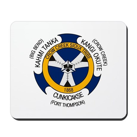 Crow Creek Sioux Flag Mousepad