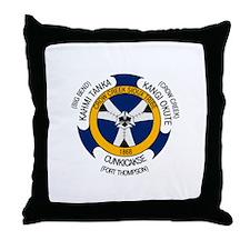 Crow Creek Sioux Flag Throw Pillow