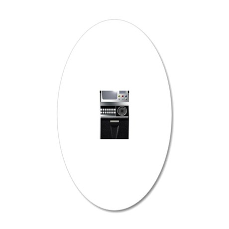 tricorder5 20x12 Oval Wall Decal