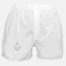 F A Masons Wisconsin white Boxer Shorts