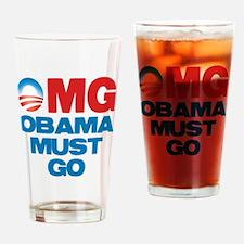 omg_shirt_cp Drinking Glass