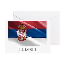 Serbia Greeting Card