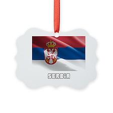Serbia Ornament