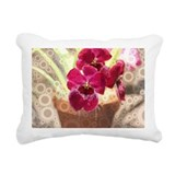 Orchid Rectangle Canvas Pillows