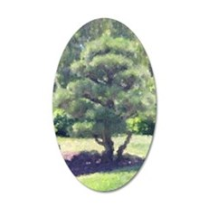 Tree 35x21 Oval Wall Decal