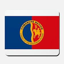 Comanche Flag Mousepad