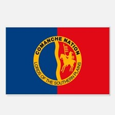 Comanche Flag Postcards (Package of 8)
