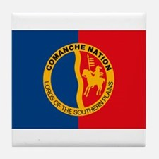 Comanche Flag Tile Coaster