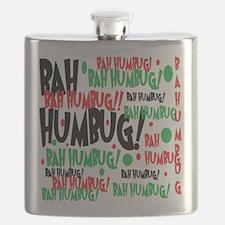 Bah Humbug Chr Flask