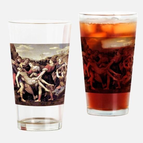 The Deposition - Raphael Drinking Glass