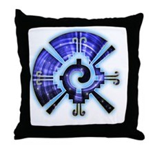 Galactic Buttefly Throw Pillow