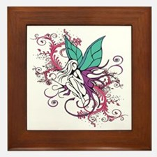 Young Fairy Framed Tile