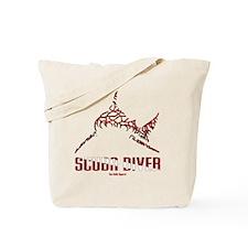 BullShark DIVER 10x10 CLR Tote Bag