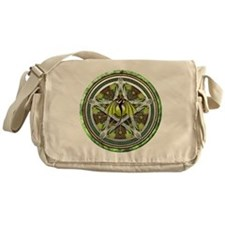Celtic Earth Dragon Pentacle Messenger Bag