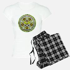 Celtic Earth Dragon Pentacl pajamas