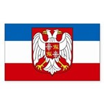 Yugoslavia Rectangle Sticker
