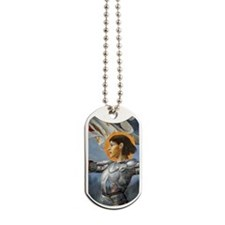 joan for journal Dog Tags