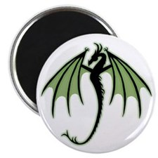 Green Dragon Magnet