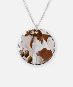 brittany spaniels2 Necklace