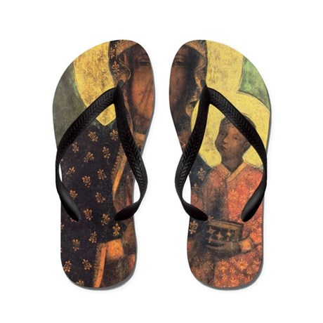 Our Lady of Czestochowa Flip Flops