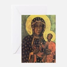 Our Lady of Czestochowa Greeting Card
