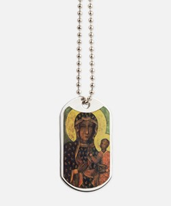 Our Lady of Czestochowa Dog Tags