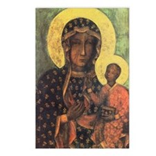 Our Lady of Czestochowa Postcards (Package of 8)