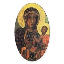 Our Lady of Czestochowa Decal