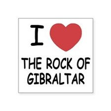 "ROCK_OF_GIBRALTAR Square Sticker 3"" x 3"""
