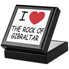 ROCK_OF_GIBRALTAR Keepsake Box