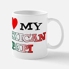 I Love Mexican Papi Mug