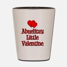 Abuelitas Little Valentine Shot Glass
