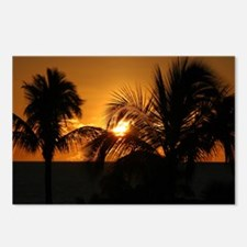 Sunset Palms Postcards (Package of 8)