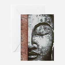 Equality & Buddha Design Greeting Card