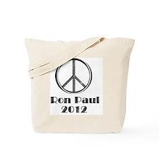 peace sign 2 faded Tote Bag