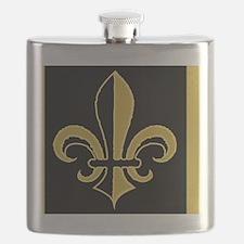 fleurBGblesBGcMiniW Flask