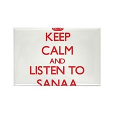 Keep Calm and listen to Sanaa Magnets