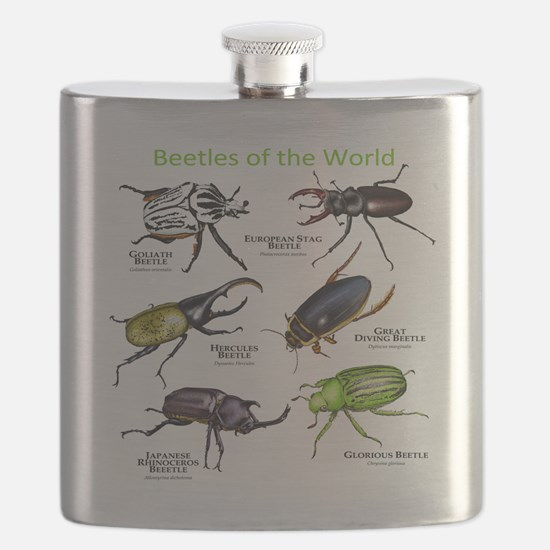 Beetles of the World Flask