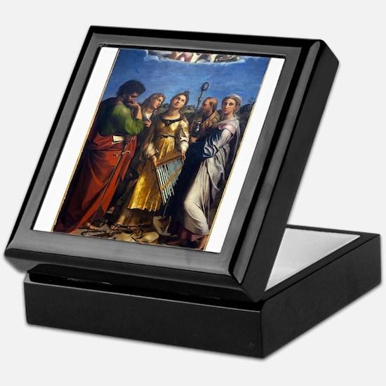 St Cecilie - Raphael Keepsake Box