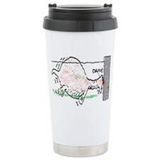 Loch Ness Bust Travel Mug