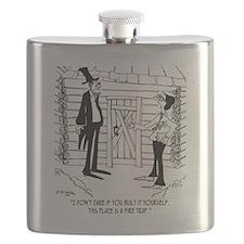 6451_lincoln_cartoon Flask