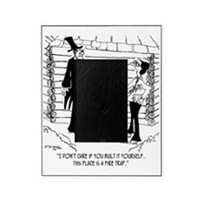 6451_lincoln_cartoon Picture Frame