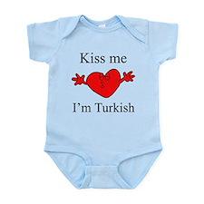 Kiss Me I'm Turkish Infant Bodysuit