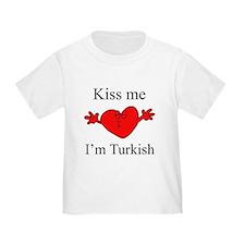 Kiss Me I'm Turkish T