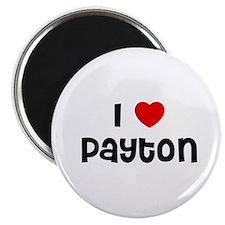 """I * Payton 2.25"""" Magnet (10 pack)"""