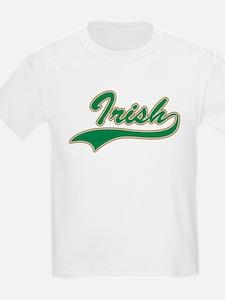 Irish Swoosh Green Kids T-Shirt