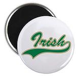 Irish Swoosh Green Magnet