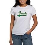 Irish Swoosh Green Women's T-Shirt