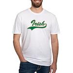 Irish Swoosh Green Fitted T-Shirt