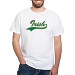 Irish Swoosh Green White T-Shirt